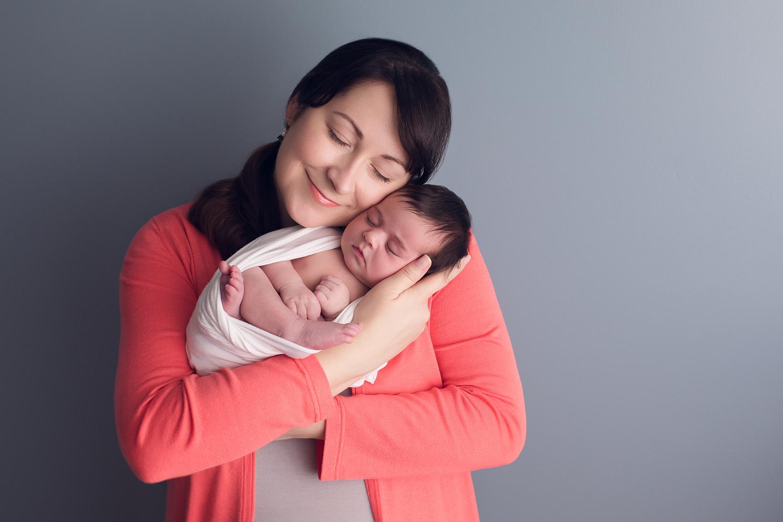 Newborn Photography SanJose Bay Area mom and baby